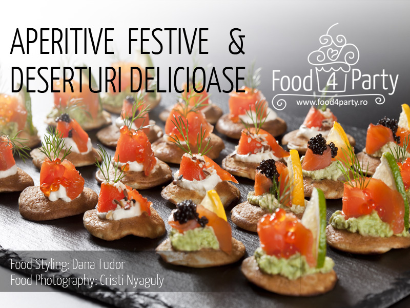Food4Party.ro - Aperitive Festive & Deserturi Delicioase