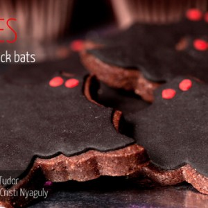 Cookies Halloween Black Bats