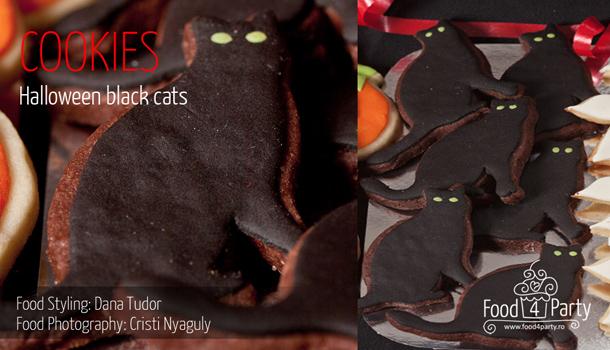 Cookies Halloween Black Cats