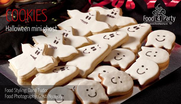 Cookies Halloween Mini Ghost