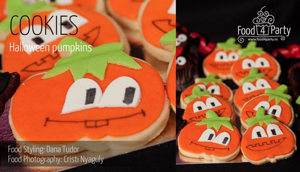 Cookies Halloween Pumpkins