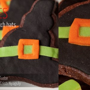 Cookies Halloween Witch Hats