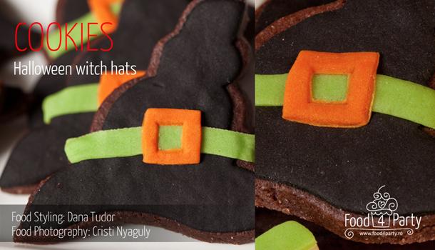 Cookies Halloween Witch Hats