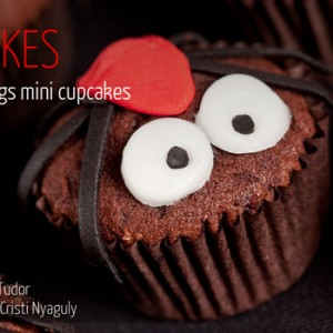 Halloween Bugs Mini Cupcakes