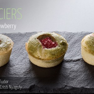 Financiers Matcha Strawberry