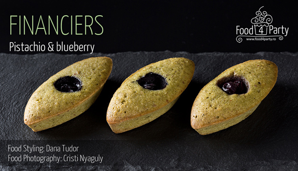 Blueberry Financiers Recipe — Dishmaps