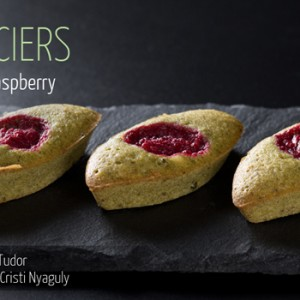Financiers Pistachio Raspberry