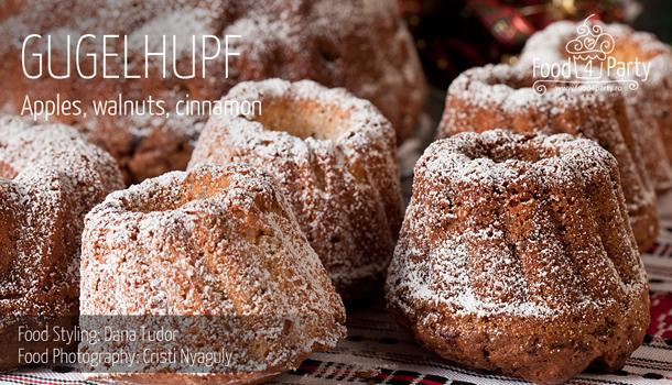 Gugelhupf Apple, Walnuts, Cinnamon