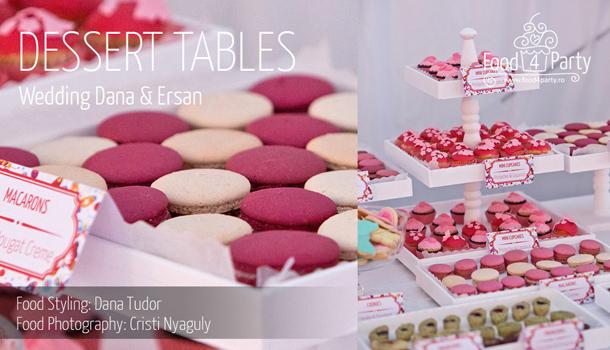 Dessert Table Nunta Dana Ersan
