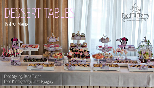 Dessert Table Botez Maria